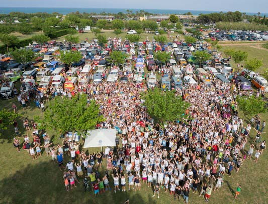 Vw Camper Van Show Espagne 2015