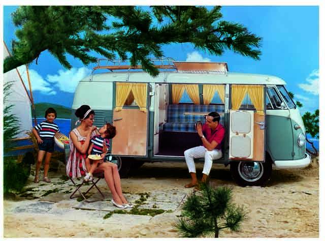 Vw T1 Campervan 1951