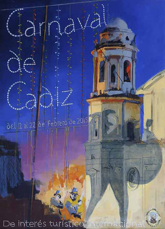 2015 Cadiz Carnival Poster