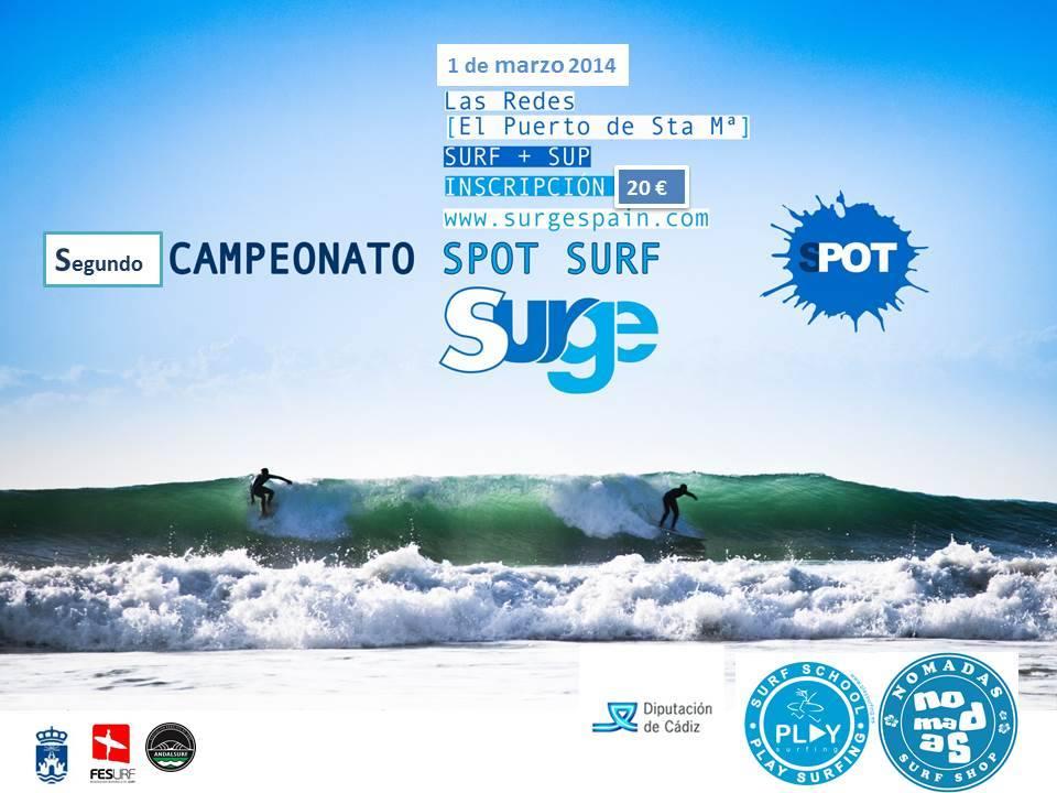 Campeonato Spot Surf Surge 2014