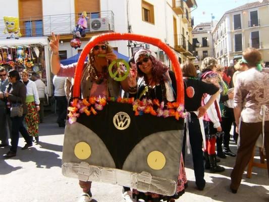 Profiter du carnaval de Cadix avec votre Vw Campervan