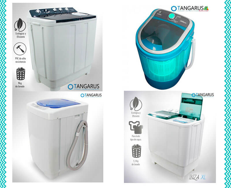 lavadoras portátiles tangarus