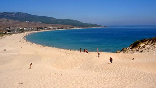 Playa de Bolonia, Tarifa, Cadiz. Paraiso Camper furgoperfecto.