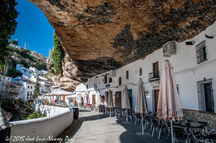 road trip espagne Setenil-Alcalá del Valle
