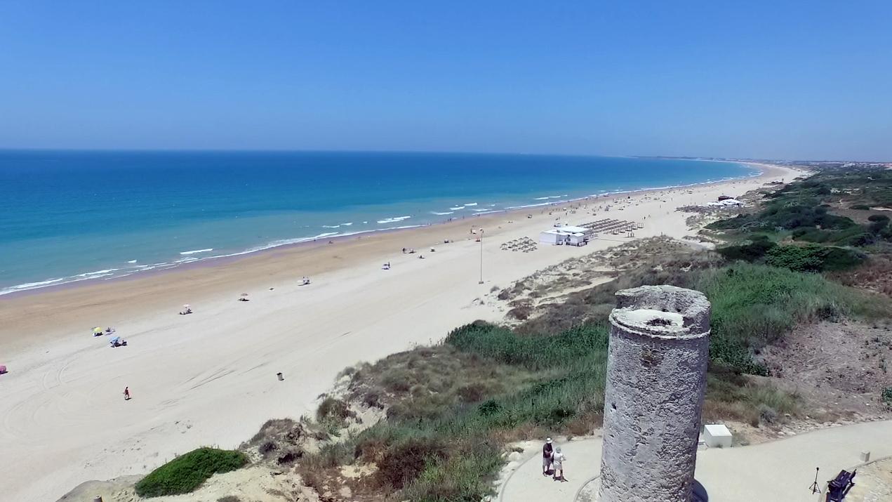 La Barrosa beach, Chiclana de la frontera