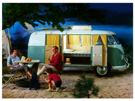 Vw T1 Camper de 1951 con Camping Boxes