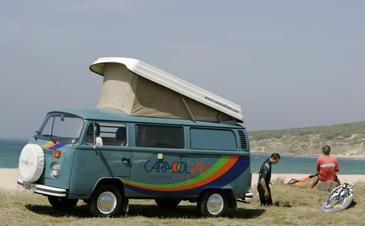 Vw T2 Kombi Camper, the most hippie model