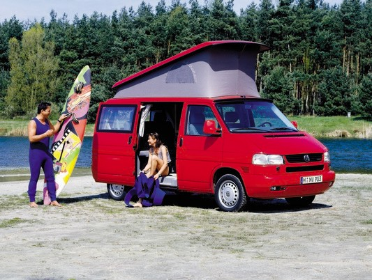 Vw T4 California, last Vw Camper Westfalia oficial