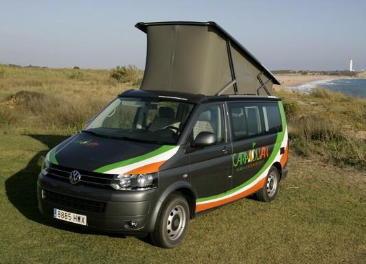 Vw T5 California montada integramente por Volkswagen