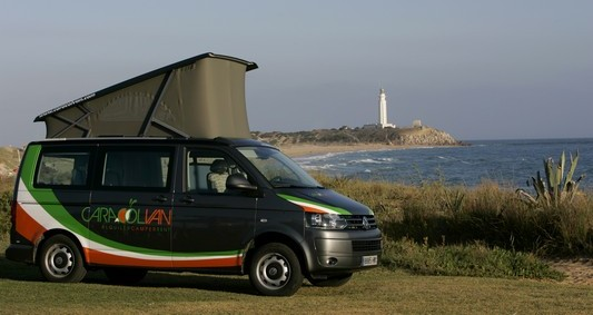 The new Vw T5 California in Caracolvan