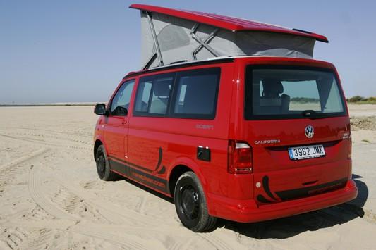 New brand Vw T6 California campervan spain
