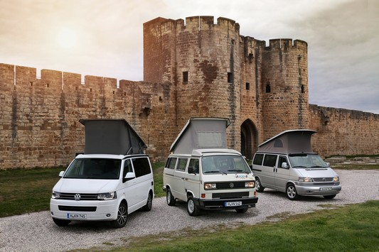 Vw T3 California and T5 California