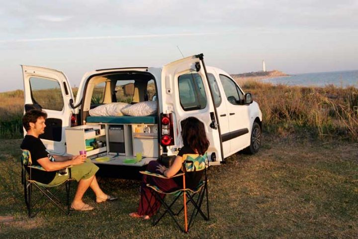 Location de VW Caddy Eco Camper van