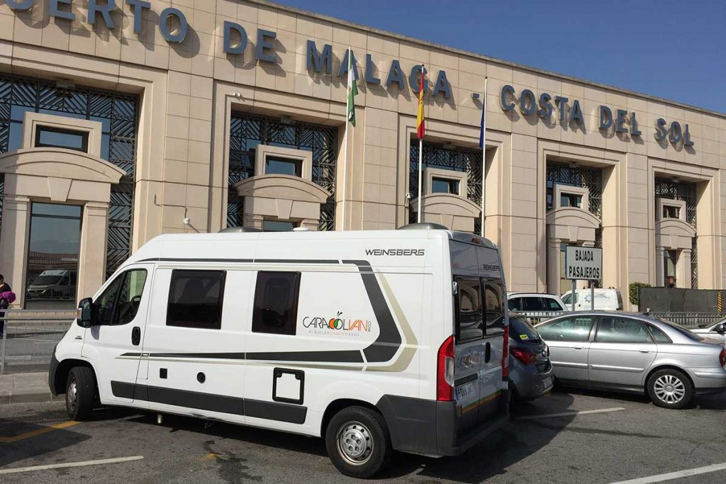 1543bc22b0 Camper Rent in Malaga Airport. Ronda Málaga with motorhome