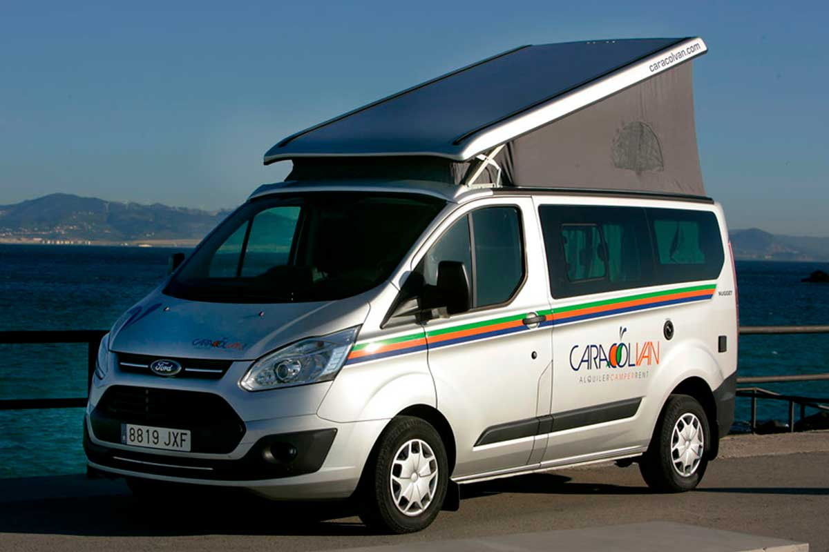 Rent Ford Nugget Camper Van Andalusia