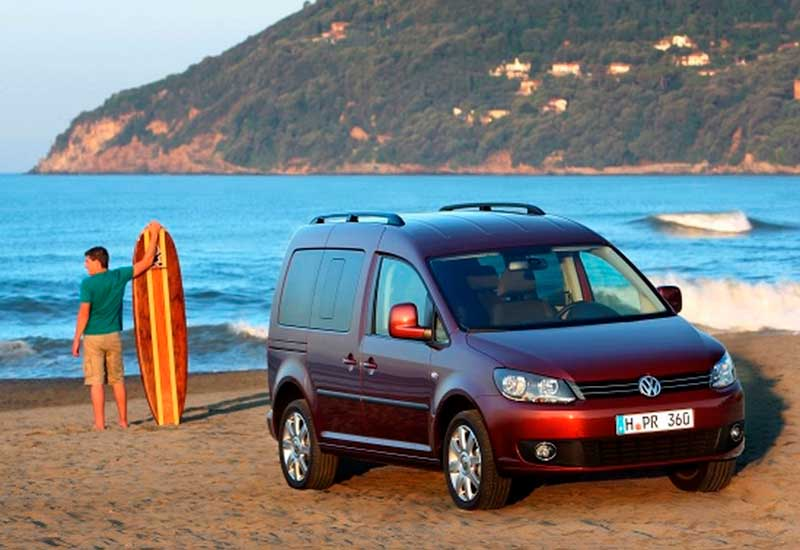 Rent VW Caddy Mini Camper Van Andalusia