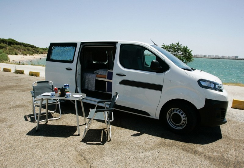 Location camper car Eco Camper en Cadix, Caracolvan