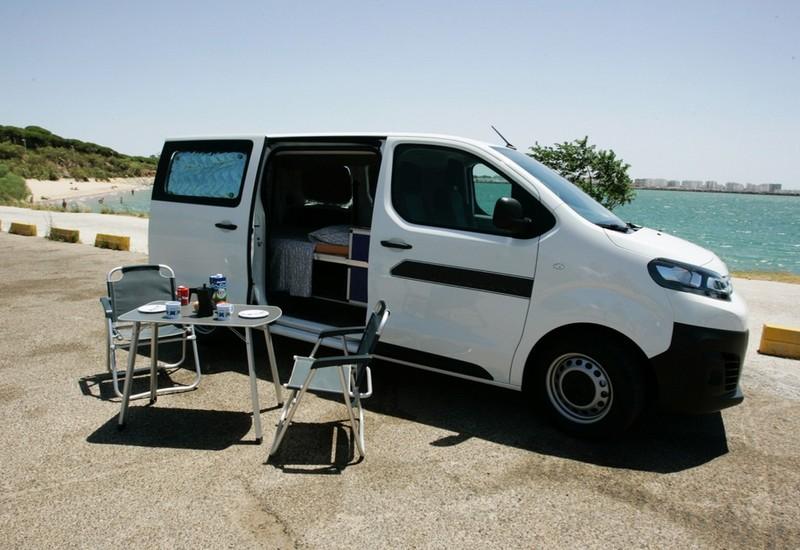 Rent Eco Camper Van Caracolvan Cadiz