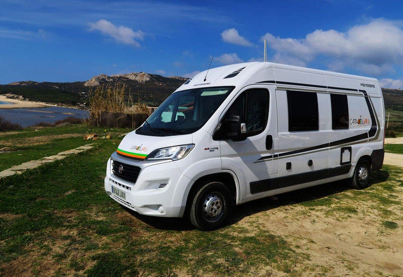 Weinsberg Carabus location camper-car