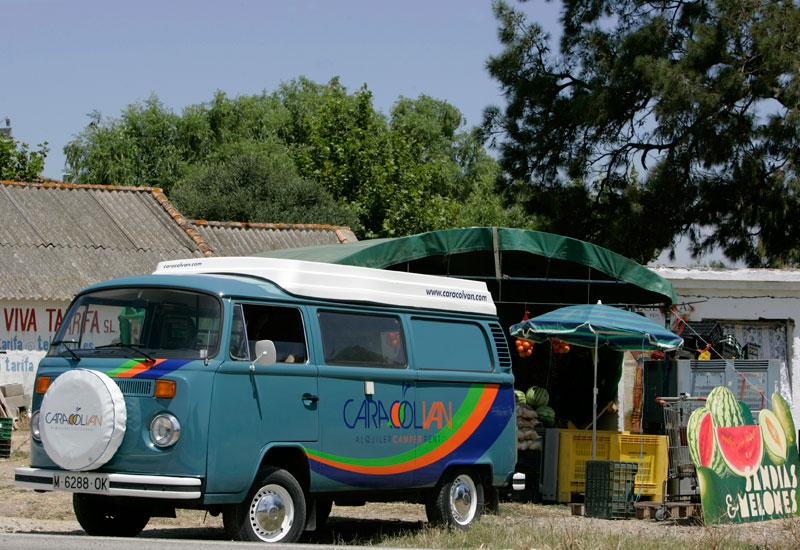 camper-car vintage location fourgonnettes