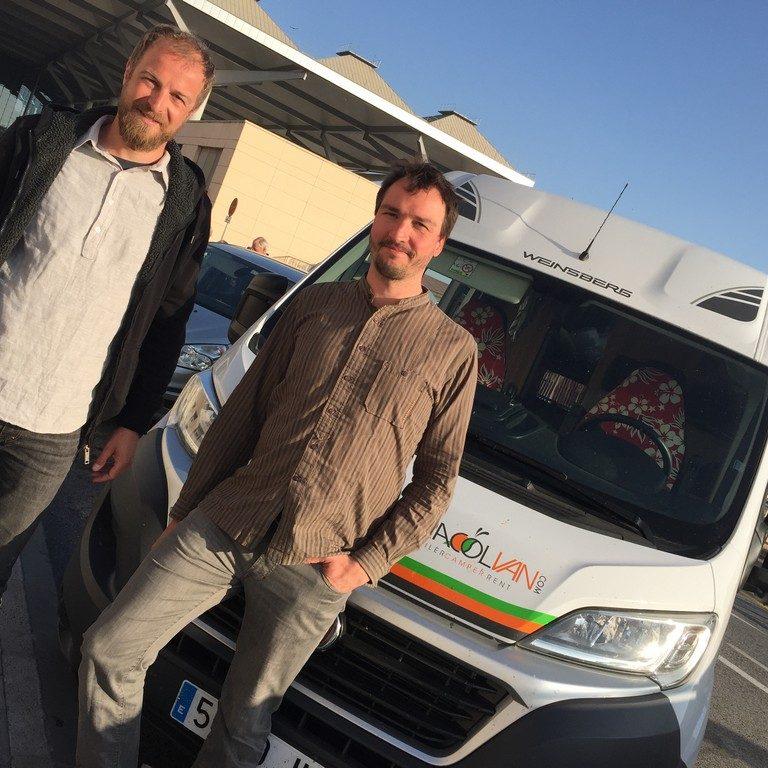 Stefan Lautensack und Oliver Deutschland