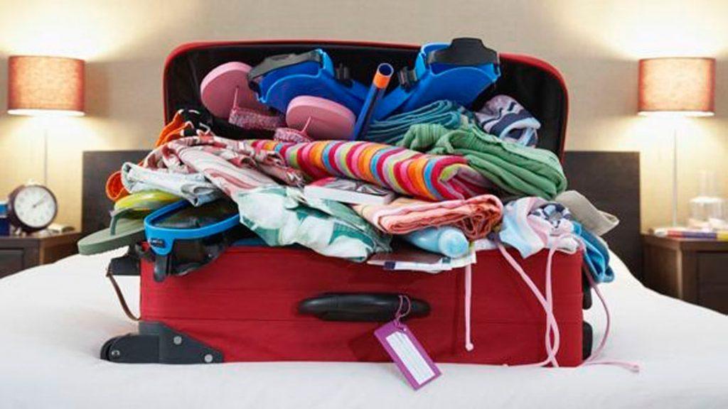 Nunca usamos toda la ropa que llevamos en la maleta