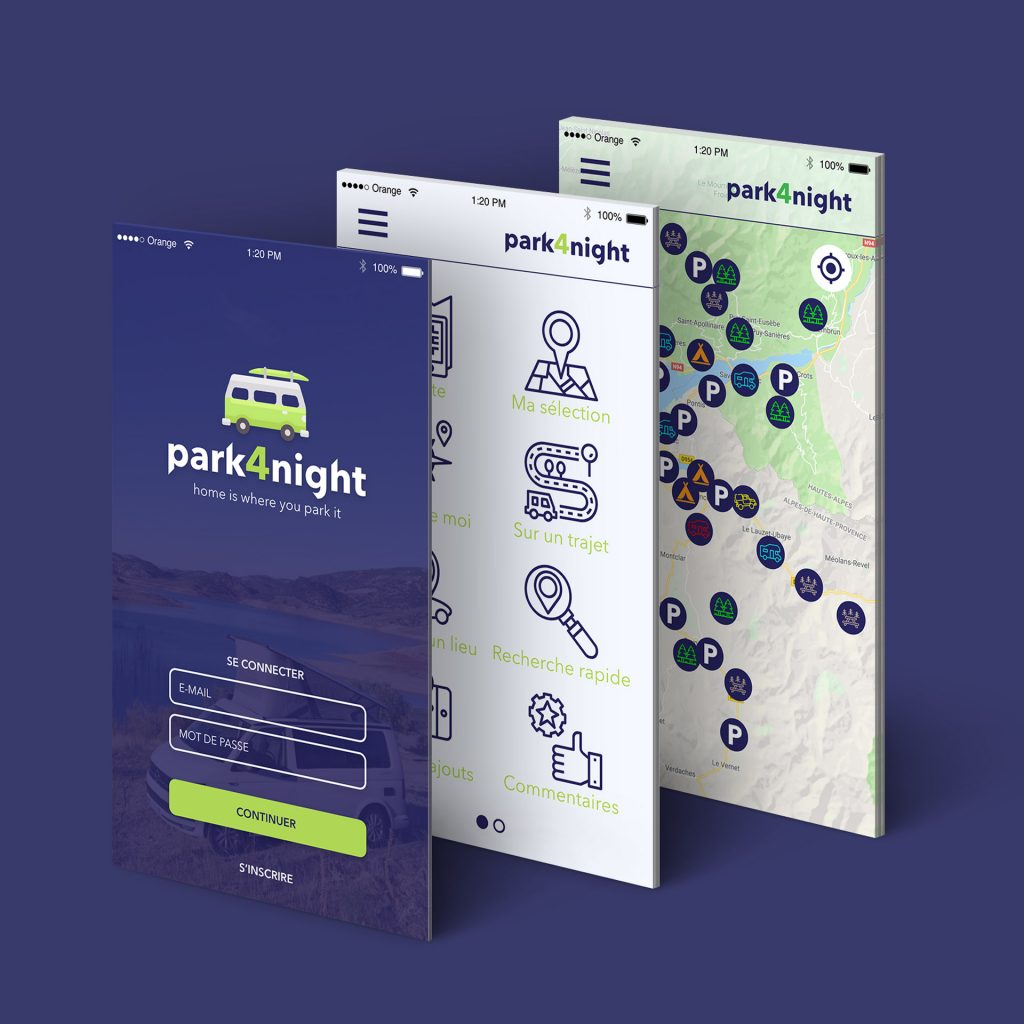 meilleure application Park4Night ou CamperContact