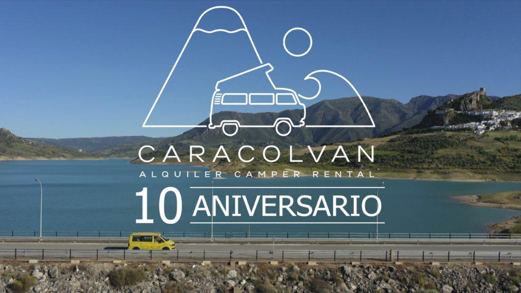 10-jähriges Jubiläum der Caracolvan Wohnmobilvermietung Spanien
